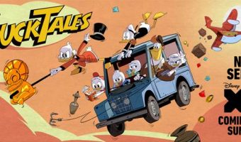 DuckTales is Coming Back- and I Jumped in Scrooge McDuck's Money Bin! #DuckTales