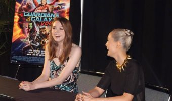 Exclusive Interview with Karen Gillan and Pom Klementieff of Guardians of the Galaxy Vol. 2!
