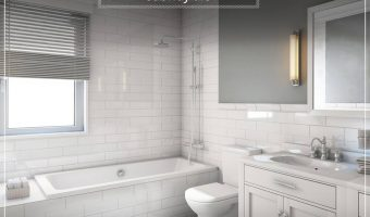 Remodel Your Bathroom with Help from the Sears Home Services #HouseExperts
