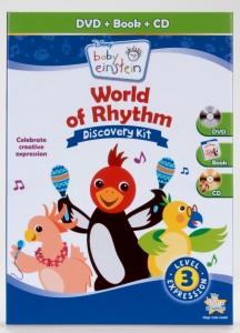 baby einstein world of rhythm discovery kit
