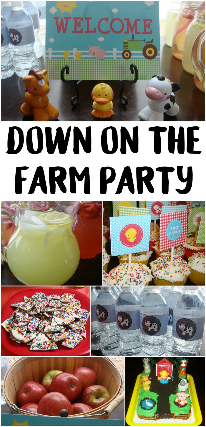 Down on the Farm Party
