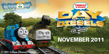 Kidtoons Giveaway: Thomas & Friends™ TrackMaster™ Cranky & Flynn Save the Day!