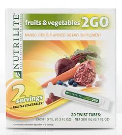 Fruits & Veggies 2GO Twist Tubes Review & Giveaway #AmwayNutrilite