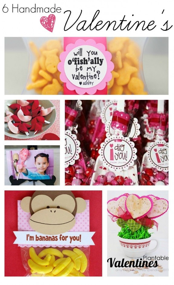 6 Handmade Valentine's Ideas