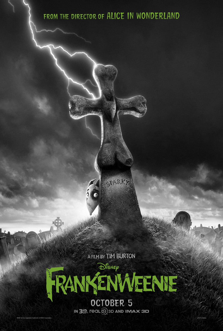 Frankenweenie is Coming This Halloween!
