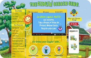 Go green and giggle website