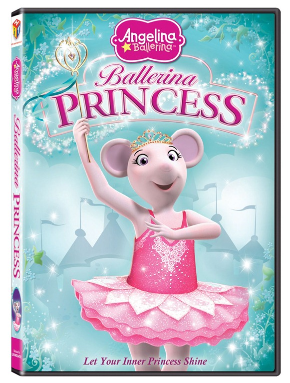 Review: Angelina Ballerina's Ballerina Princess DVD
