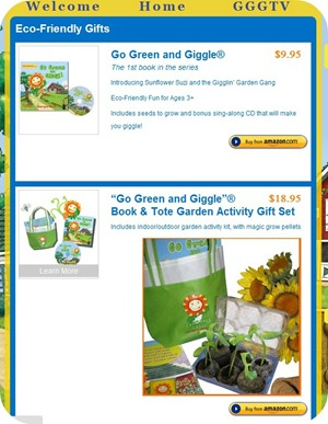 go green and giggle options