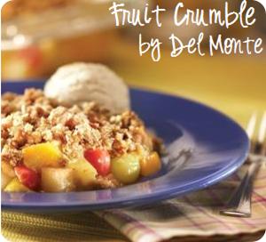 fruit crumble recipe