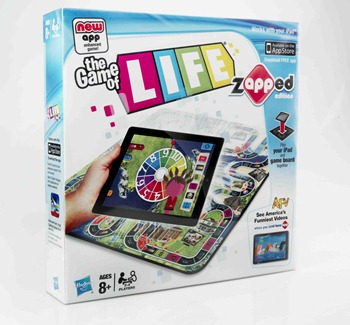 Update Your Family Game Night with The Game of Life- zAPPed Edition!