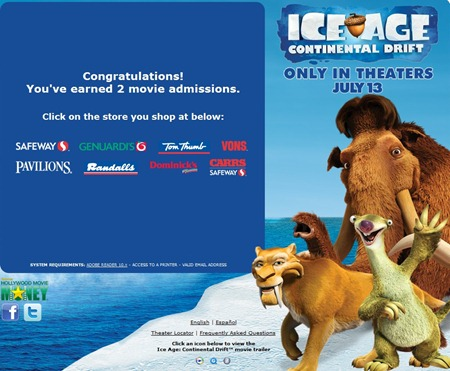 June Dairy Month Free Movie Coupon