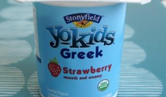 Go Greek with Stonyfield YoKids Greek! {Giveaway}