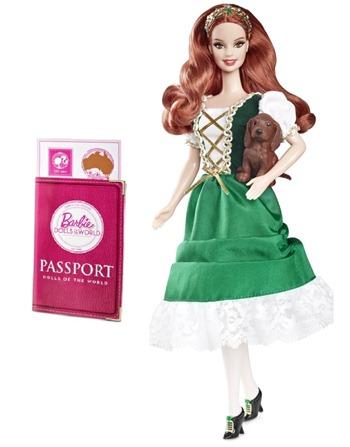 Take a Trip Around the World with Barbie!