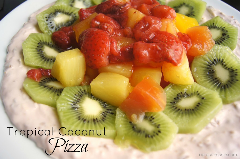 Tropical Coconut Pizza