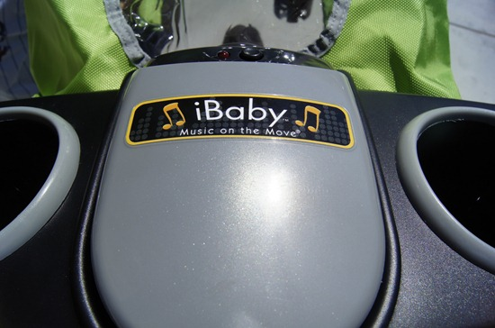 J is for Jeep Jogging Stroller iBaby system