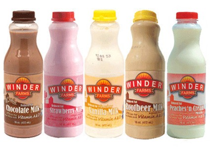 flavored milk sampler