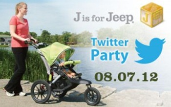 j is for jeep twitter party