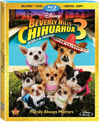Now on DVD: Beverly Hills Chihuahua 3: Viva La Fiesta!