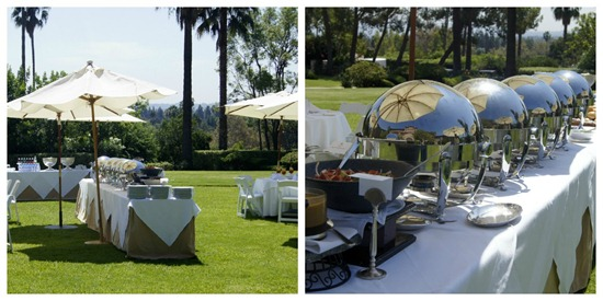 Langham Pasadena Outdoor Area