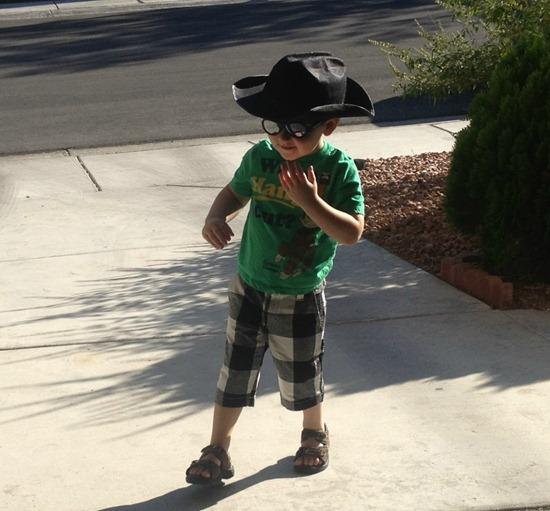 "Wordless Wednesday: ""Howdy, Partner!"""