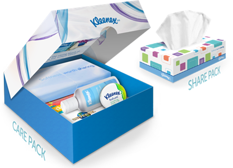 kleenex care pack