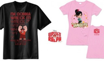 Giveaway: Wreck-It Ralph T-Shirts!