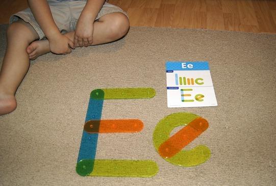 Letter Construction Set Letters