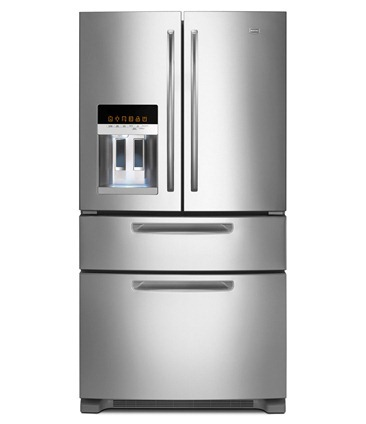 Maytag Ice2O French Door Refrigerator with Easy Access Refrigerator Drawer