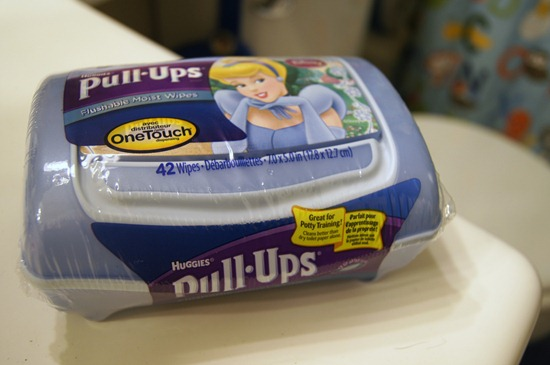 Pull-Ups Flushable Wipes
