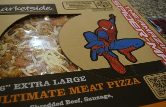 Spider-Man Marketside Pizza