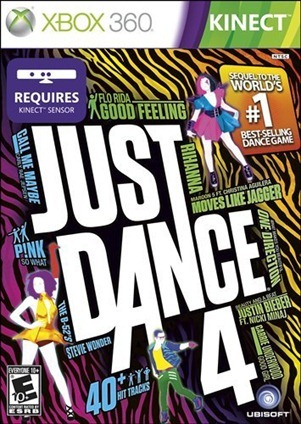 just dance 4 cover xbox