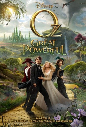oz great powerful movie poster
