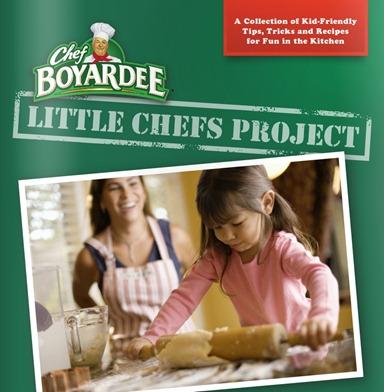 Chef Boyardee Little Chefs CookBook
