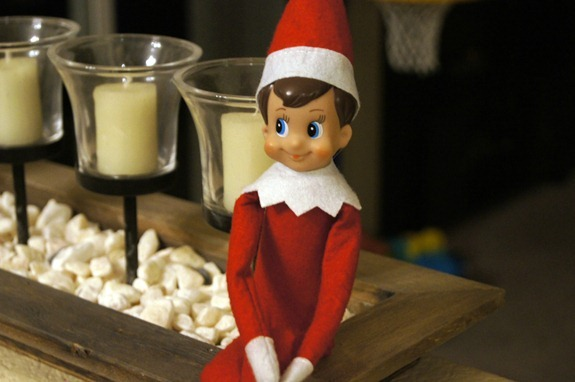 Our Elf on the Shelf Goodbye Party