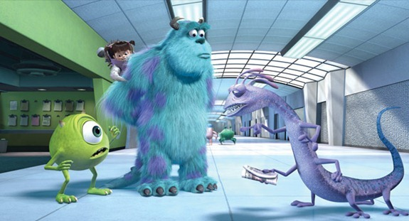 monsters inc 3d randall