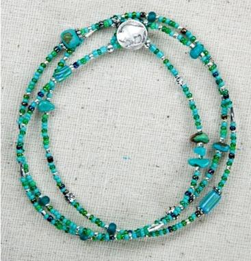 rain bracelet bev's beadz