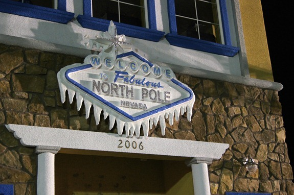 welcome to the fabulous north pole