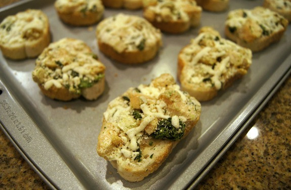 Daily Chef Bruschetta frozen appetizer