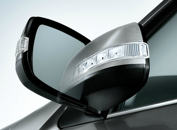 kia sorento power mirrors