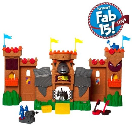 Kmart's Fab 15 Toys: Imaginext Eagle Talon Castle