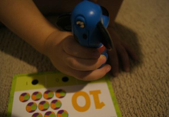 playing hot dots jr