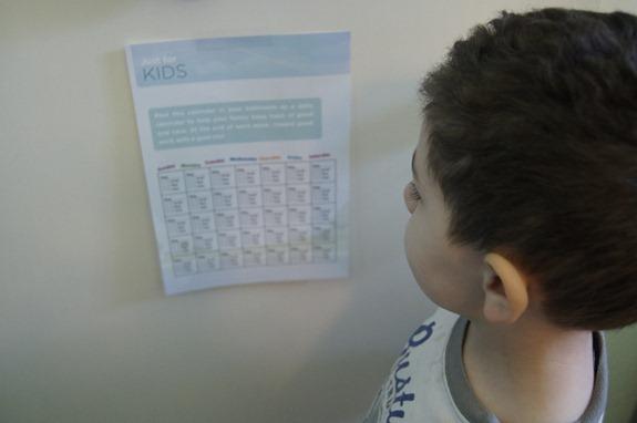 lisertine 21 day challenge kid chart