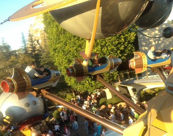 Astro Orbitors Disneyland