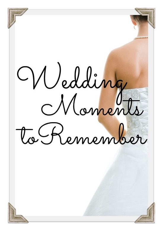 Top 5 Wedding Moments Photo Frame