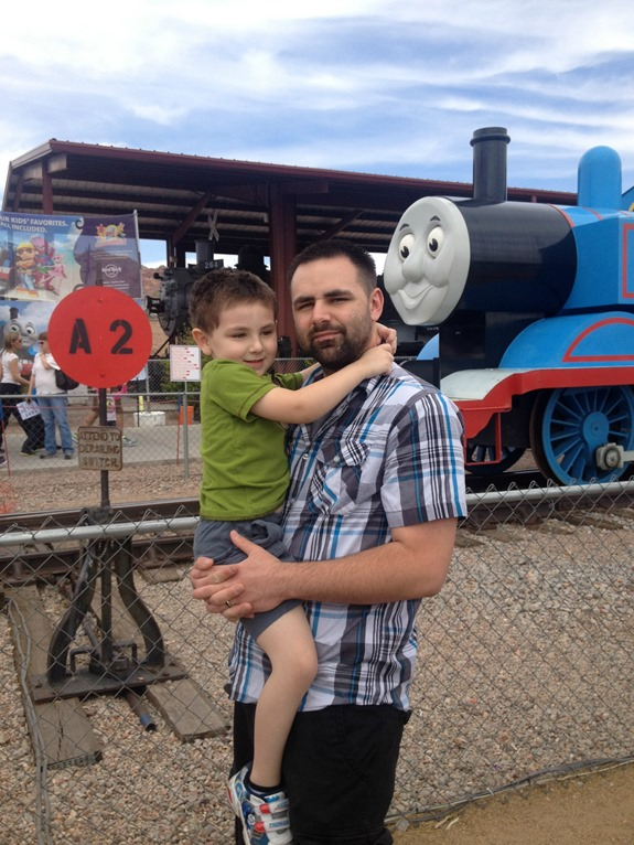 Day Out With Thomas- Boulder City, NV