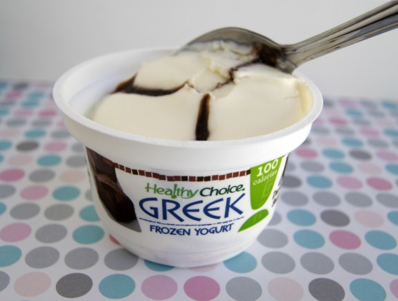 Healthy Choice Frozen Yogurt- Dark Fudge Swirl