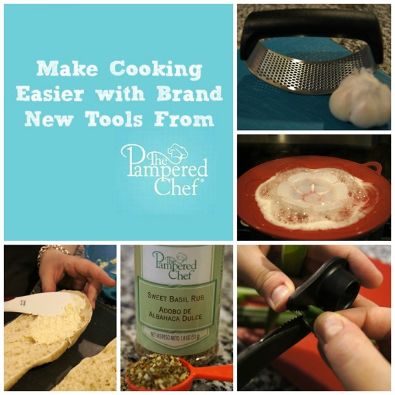 New Tools from The Pampered Chef