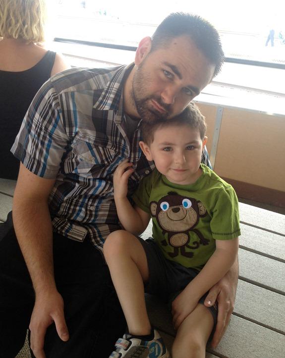 Daddy & Son- Thomas the Train