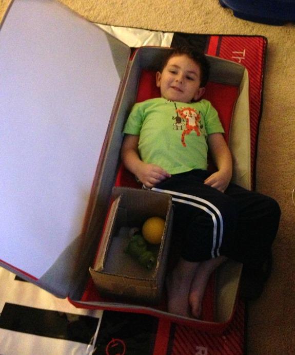 Hiding in Piano Box