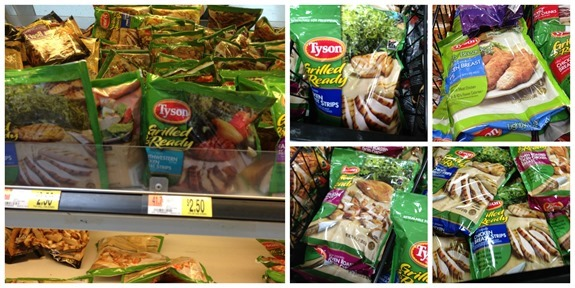 Tyson Grilled & Ready varieties